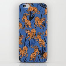 Summer Jungle Tropical Tiger iPhone & iPod Skin