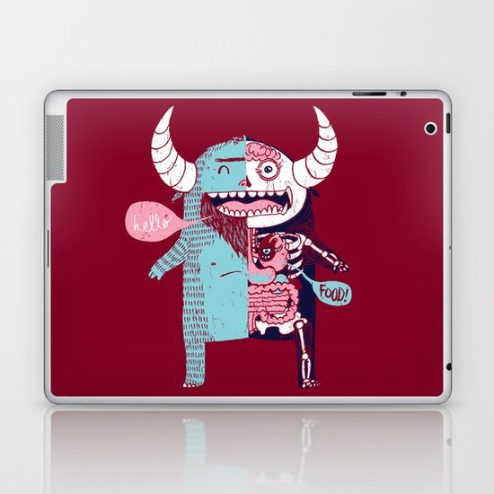 All Monsters are the Same Laptop & iPad Skin