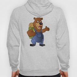 bear hiker. Hoody