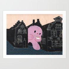 In Bruges I Art Print