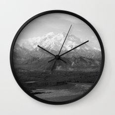 Mt McKinley Wall Clock