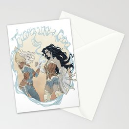 Super Powered: Fight Like a Girl Stationery Cards