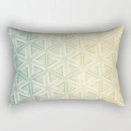 escher pattern Rectangular Pillow
