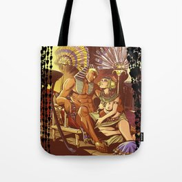 Dreaming with the pharaoh Tote Bag
