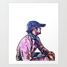 Self P. Art Print