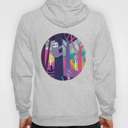 Sloth in the woods Hoody