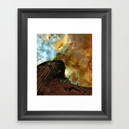 Antero space Framed Art Print