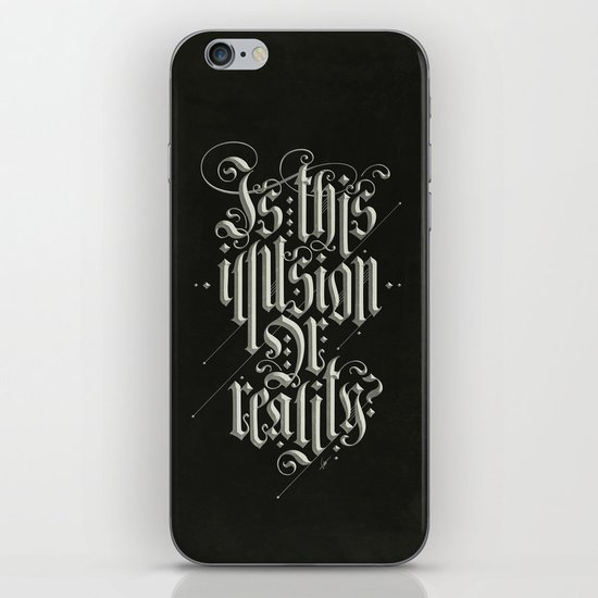 Is This Illusion Or Reality? iPhone & iPod Skin