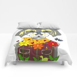 Botanical Pup Comforters
