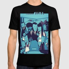 Royal with Cheese (variant) Mens Fitted Tee MEDIUM Black