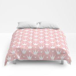 Cute Princess Tiara Pattern Comforters