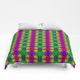 Traditional pattern dark Comforters