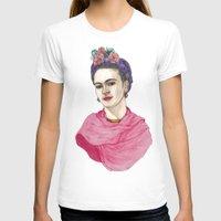 frida kahlo T-shirts featuring Frida Kahlo by Barruf