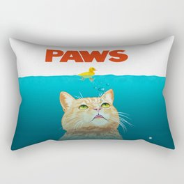 Paws! Rectangular Pillow