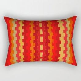 Navajo Rust Rectangular Pillow