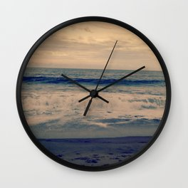 He Knows The Tides  Wall Clock