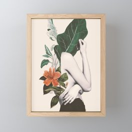 natural beauty-collage 2 Framed Mini Art Print