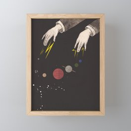 Dice with the Universe Framed Mini Art Print