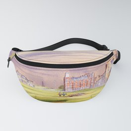 St Andrews Golf Course Scotland 17th Green Fanny Pack
