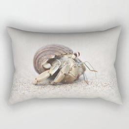 Life & times of a Hermit Crab Rectangular Pillow