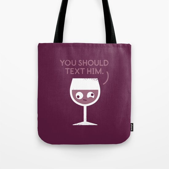 You Red My Mind Tote Bag
