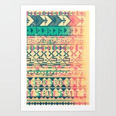 Pattern of the God Art Print