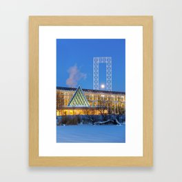 Colors and Shapes Framed Art Print