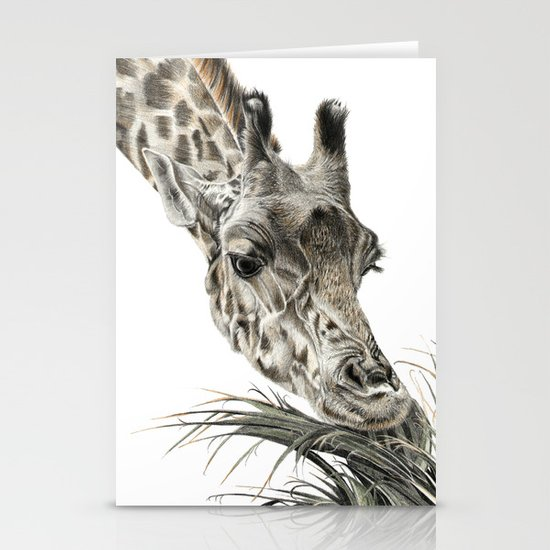 Giraffe - A Long Munch Stationery Cards