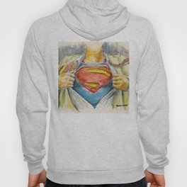 Superman - Fictional Superhero Hoody