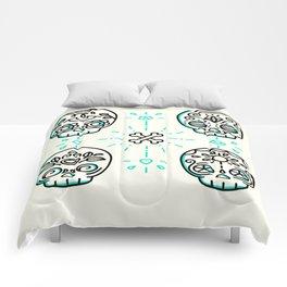 craneo_green Comforters