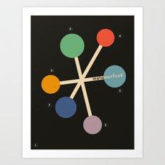 COLORAdore 019 Art Print