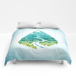 The Road Goes Ever On: Summer Comforters