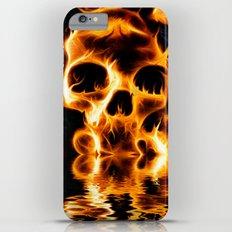 Skulls of Fire iPhone 6 Plus Slim Case