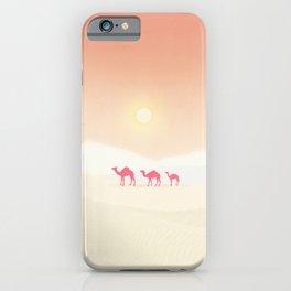 Minimal desert iPhone Case