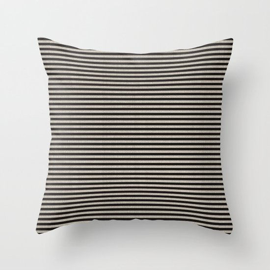 Stripes. Throw Pillow