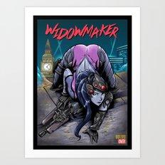 The Amazing Widow Maker #1 Art Print