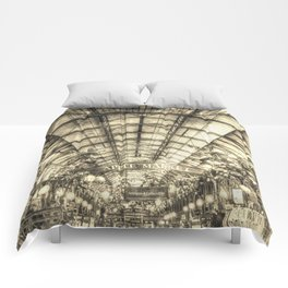 The Apple Market Covent Garden London Vintage Comforters