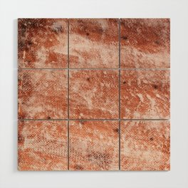 Repaired fiberglass shipboard Wood Wall Art