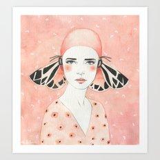 Julie Art Print