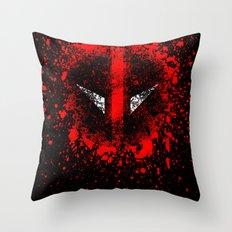 Deadpool Throw Pillow