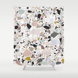 Terrazzo Pattern II. Shower Curtain