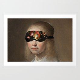 Blindfold Art Print