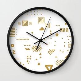 Boho Minimal Mood I. Wall Clock
