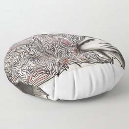 Cerebral freedom (Ode to JDM) Floor Pillow