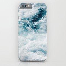 sea - midnight blue storm iPhone 6 Slim Case