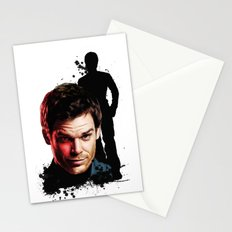 Monster Madness: Dexter Morgan  Stationery Cards