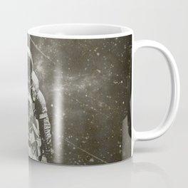 Space Traveller sepia Coffee Mug