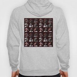 3x3 Head Monster Cover Hoody