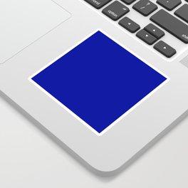 Cadmium Blue - solid color Sticker