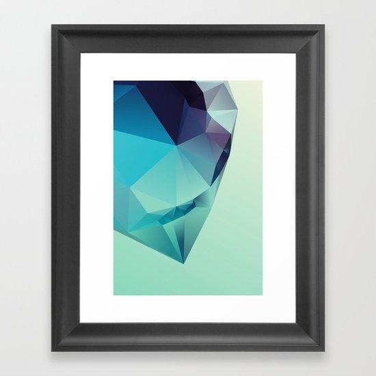 Geometric 3 Framed Art Print